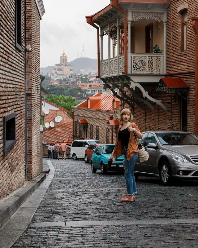 Тбилиси, грузия Старый город Тбилисиphoto preview