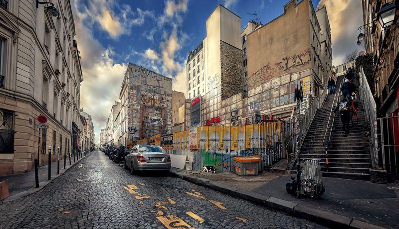 город,улица,архитектура,люди Montmartre.photo preview