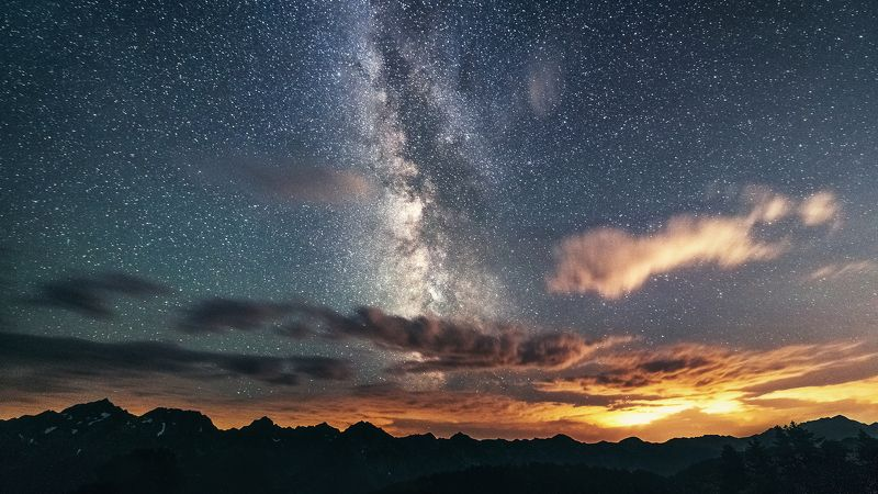 Млечный Путь над Агепстойphoto preview