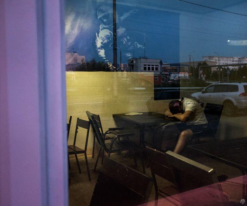 уличная фотография, streetphotography, ночь, И снится мне не рокот космодрома...photo preview