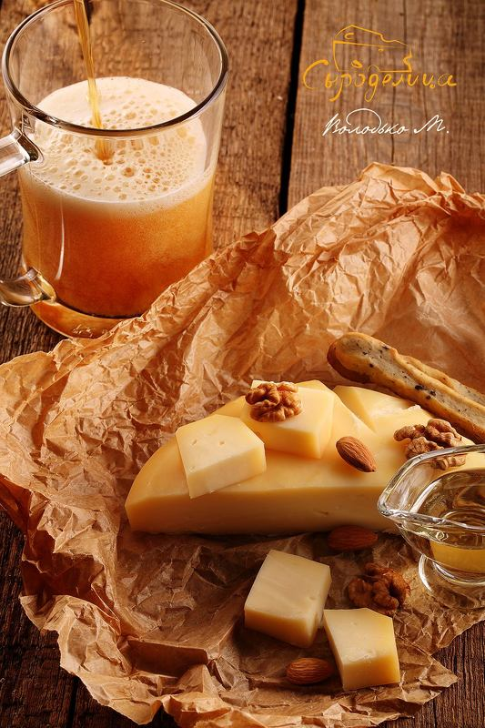 сыр,пиво Сыр с пивомphoto preview