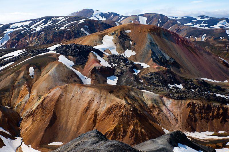 Tęczowe góry - Landmannalaugarphoto preview