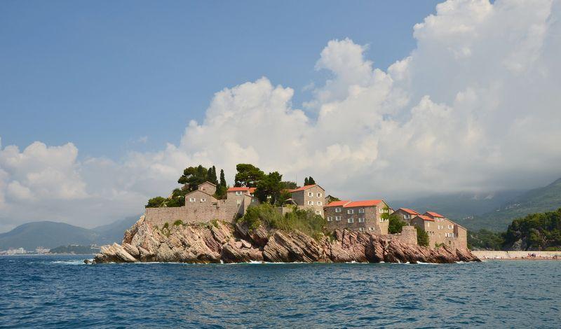 черногория, остров свети-стефан, адриатика Мимо острова Буяна...photo preview