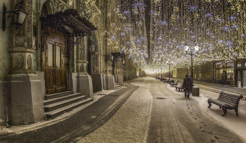 москва, новый год Москва предновогодняяphoto preview
