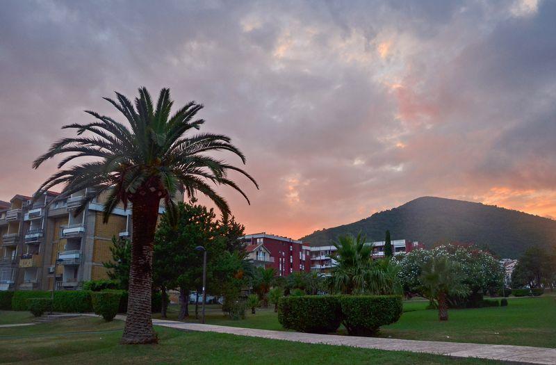 черногория, будва, вечер, закат, montenegro Вечер в Будвеphoto preview