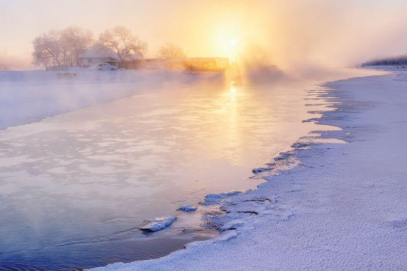 ...Золото морозного тумана...photo preview