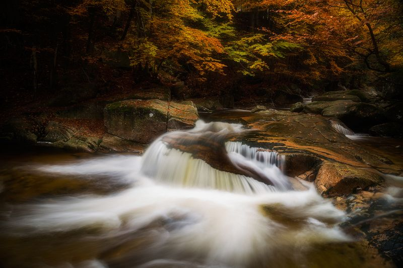 landscape,canon,waterfall,light,autumn There is a Calm Waterfallphoto preview