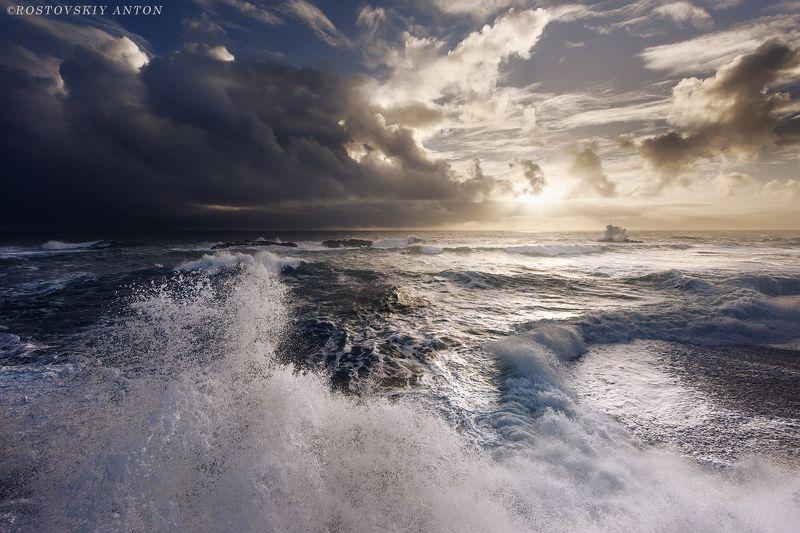 Шторм, Пляж, Исландия, фототур, море, океан, волна,  Шторм в Исландииphoto preview