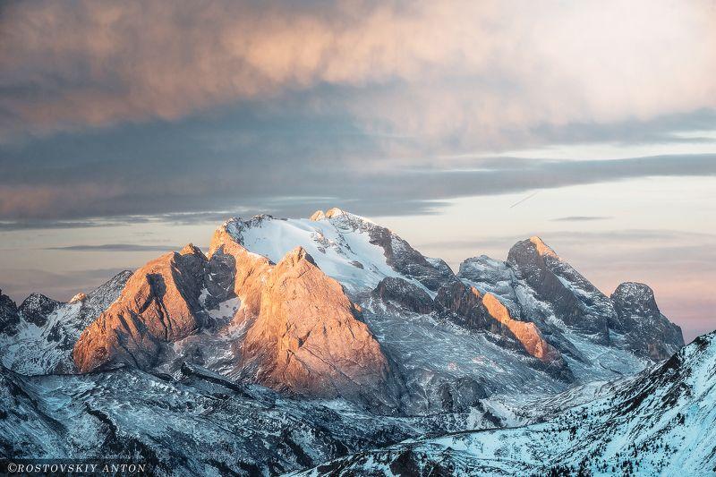 Доломиты, фототур, Гора, Мармолада, рассвет, утро, Италия, фотопктешествие, восход, Мармоладаphoto preview
