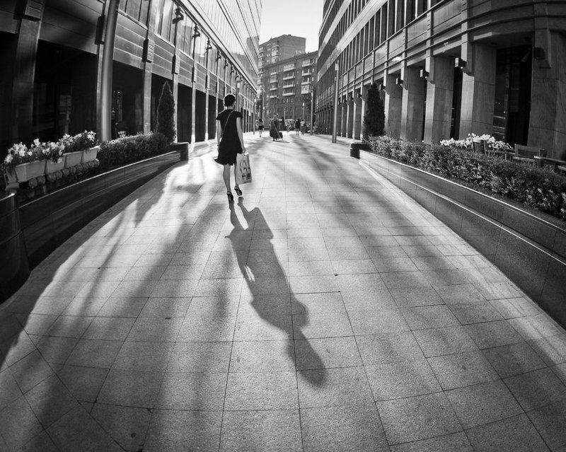 жизнь, город, утро, москва, moscow morning of the big cityphoto preview