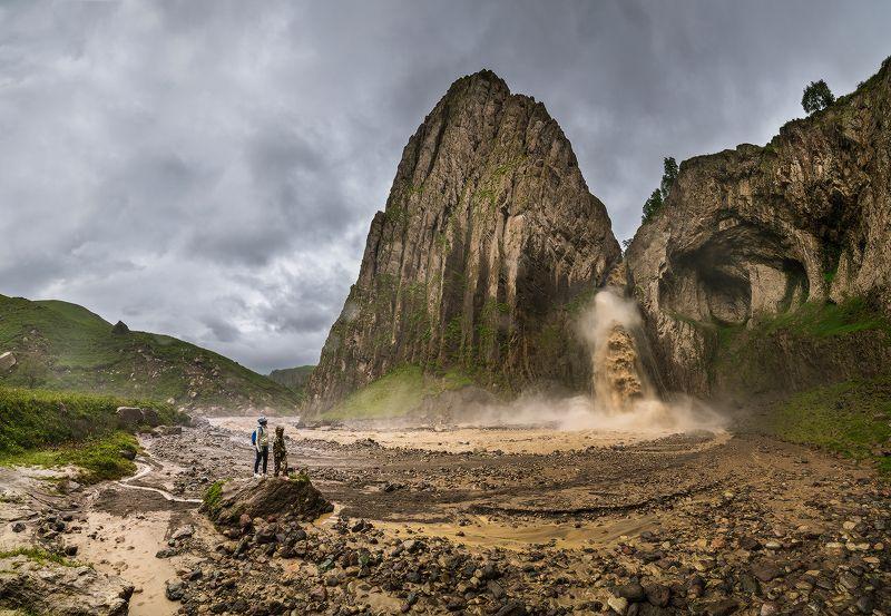 кбр, джилы-су, карая-су, водопад Неприветливый Каракая-Суphoto preview