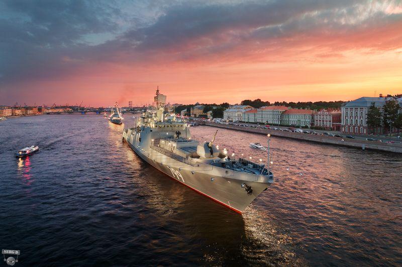 Фрегат Адмирал Макаров, Университетская набережнаяphoto preview