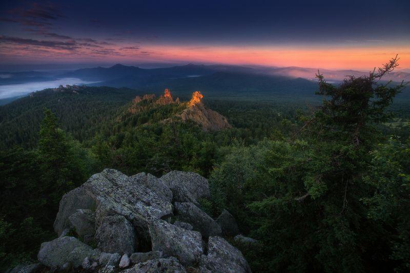 урал, ялангас, горы Уральские краскиphoto preview