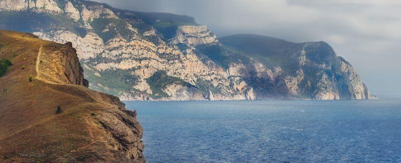 крым, севастополь, балаклава, горы, пейзаж Селфи...photo preview