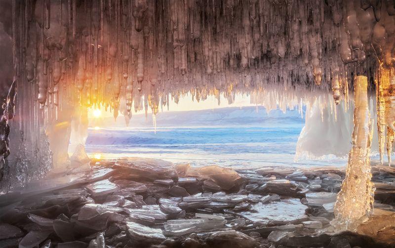 ...Лёд и солнце озера Байкал...2photo preview