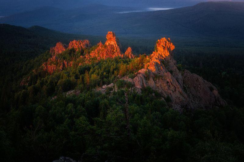 урал, ялангас, горы Красочный Ялангасphoto preview