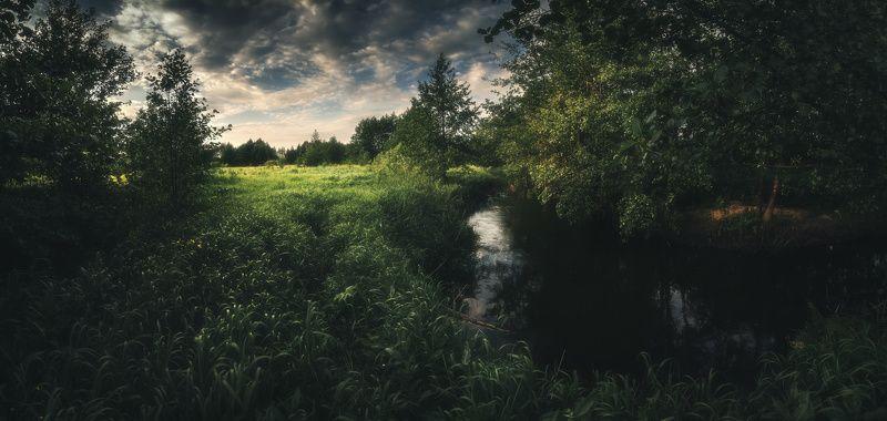 панорама, вечер, лето ***photo preview