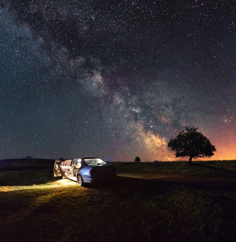 ceclii, nikon d3400 Milky Wayphoto preview
