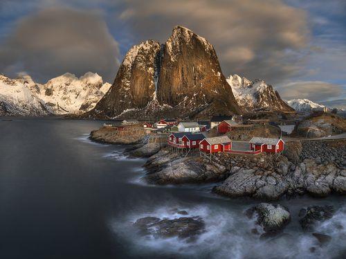 Одна норвежская деревня...