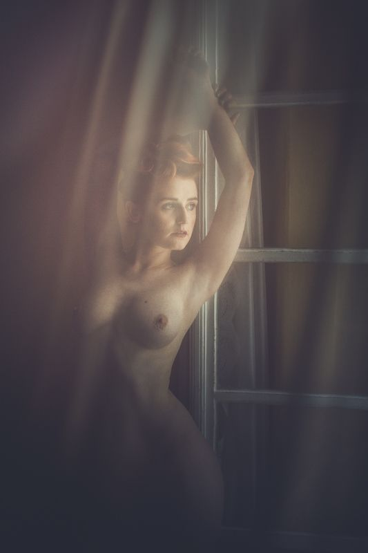 light, model,nude,window photo preview