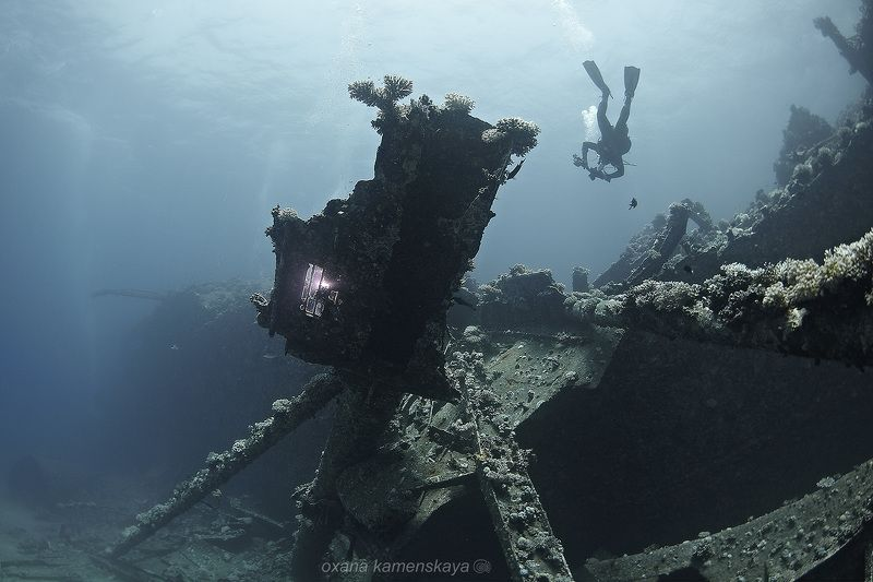 wreck Marcus underwater tile MV Marcus #3photo preview