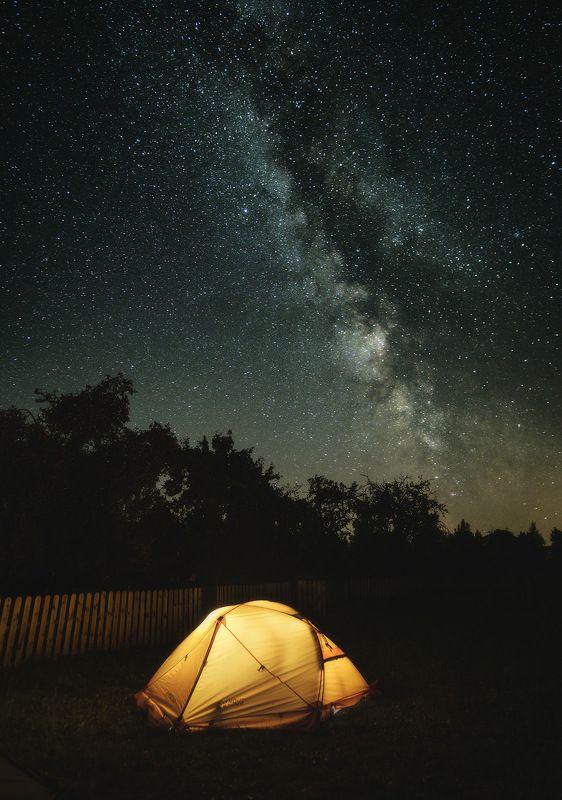 беларусь, белоруссия, пейзаж, природа, ночь, звезды, млечный путь, звездное небо, палатка \