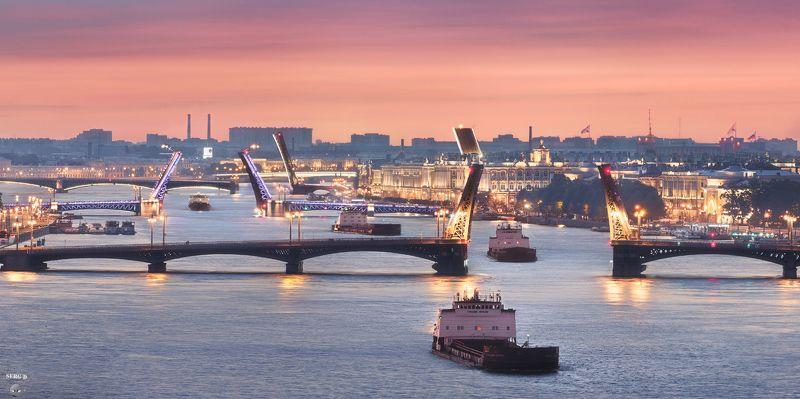 Река Большая Нева, Благовещенский мостphoto preview