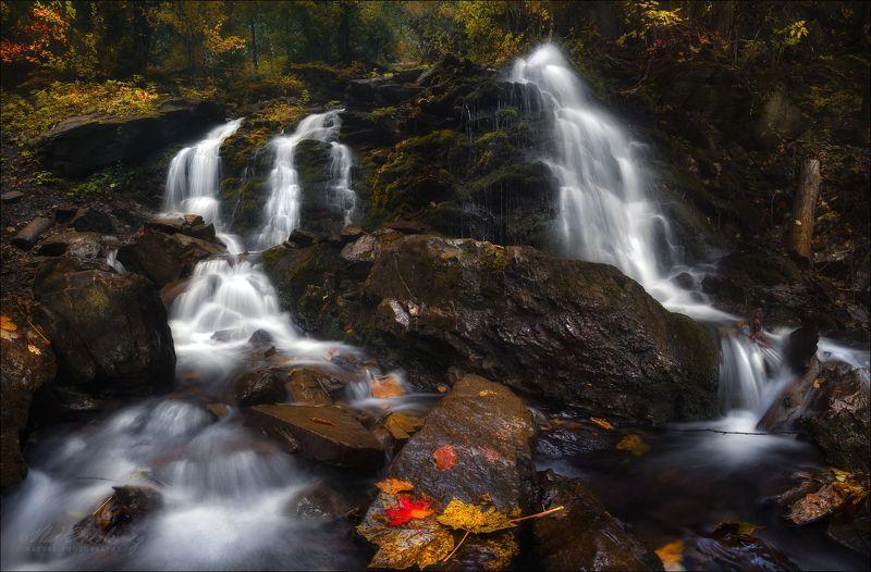 карпаты, закарпатье, горы, осень, водопад труфанец, слезы, земля Слезы Земли ..photo preview