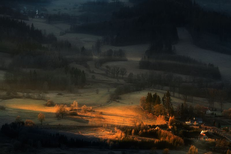 landscape,canon,mist,light,autumn Stuck in a Moment...photo preview