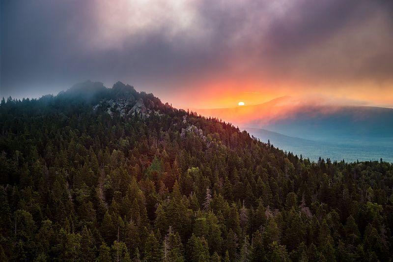 Восход над Круглицейphoto preview