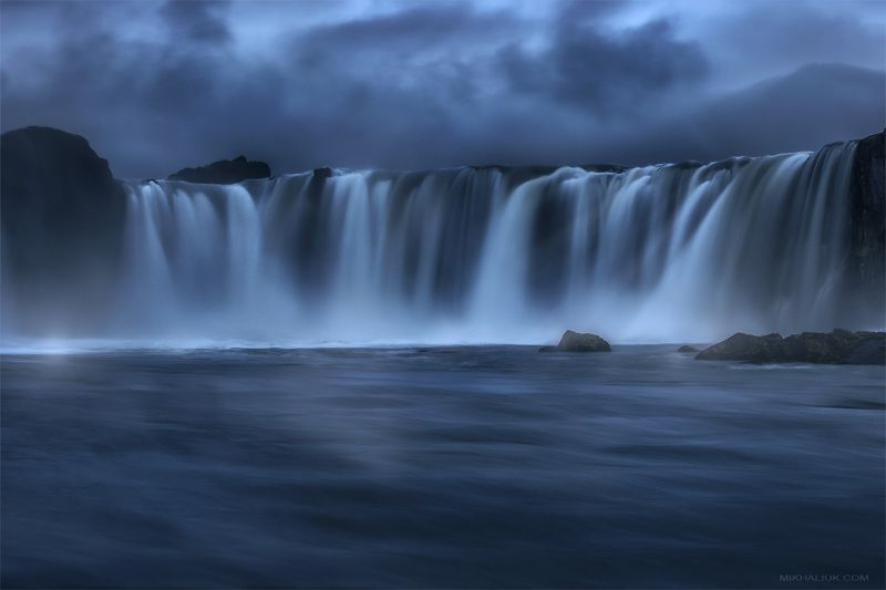 waterfall ,,iceland, godafoss, фототур, Waterfall of Iceland. Godafossphoto preview