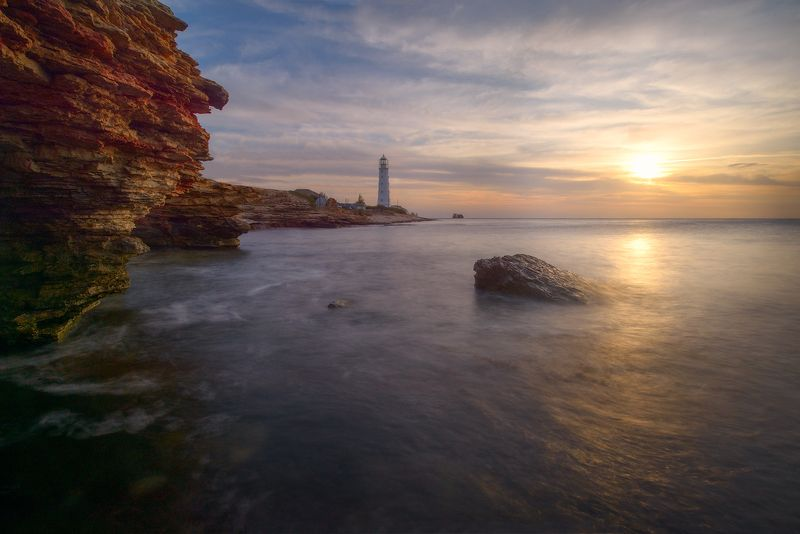 Закаты Тарханкутского маяка.photo preview