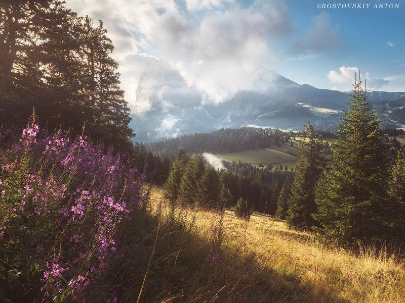 Доломиты, Альпы, фототур, Италия,  Утро в Альпахphoto preview