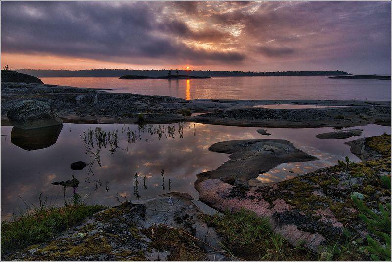 карелия, ладожское озеро, утро *  *  *photo preview