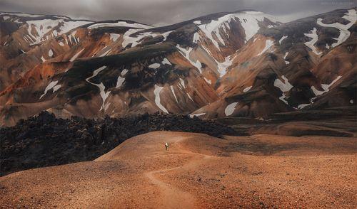 Невероятные земли Исландии...