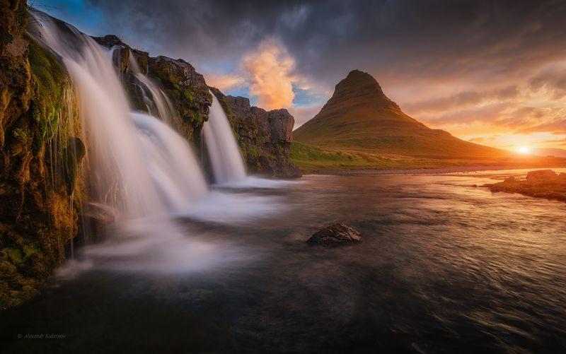 исландия, путешествия, island, travel, киркьюфетль, kirkjufell Киркьюфетль...photo preview