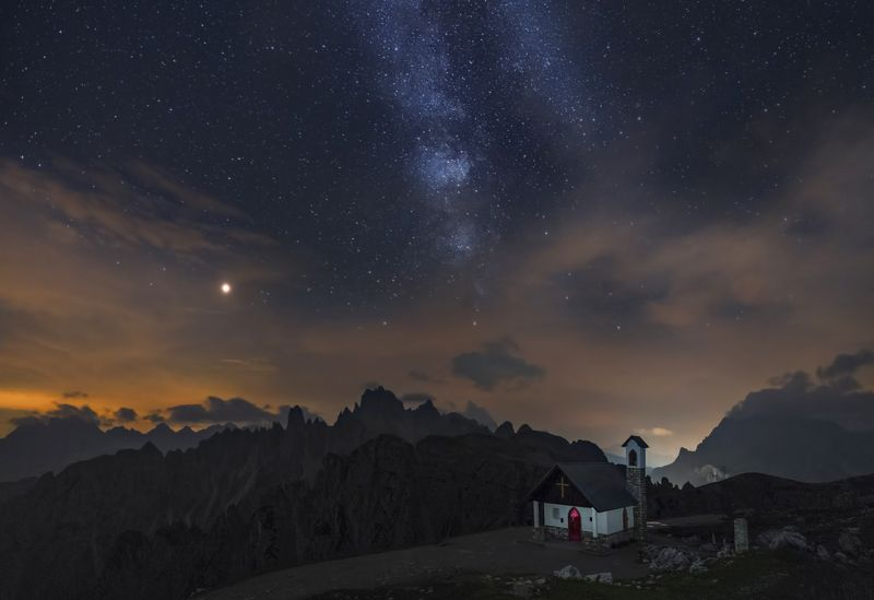 Near the god and the stars in the majestic Alps...photo preview