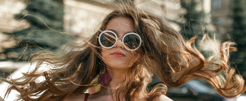 девушка, портрет, закат,  лето Ксенияphoto preview