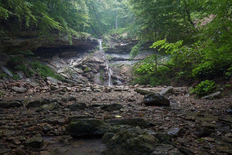 адыгея, большой хаджох, водопад Джунгли Адыгеи или на подходе к Большому Хаджохуphoto preview