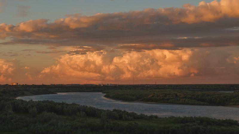 печора,коми,река Вечерняя Печораphoto preview