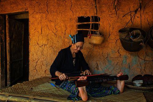 Женщина из племени Мяо