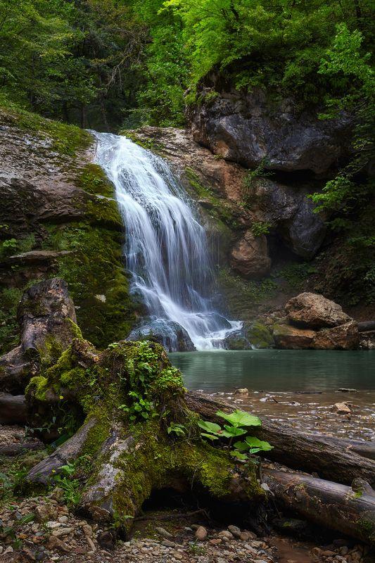 адыгея, водопады руфабго, водопад Знакомство с водопадами Руфабгоphoto preview