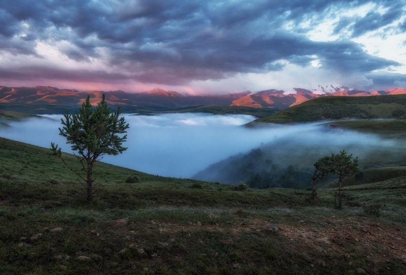 Волшебные туманы Приэльбрусья.photo preview