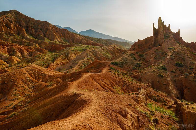 киргизия, иссык-куль, каньон, сказка Дорога к сказочным дворцамphoto preview