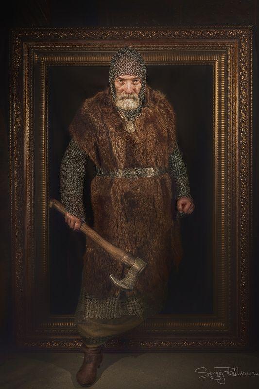 викинг, картина, студия, портрет, арт, portrait, rekhov Сошедшийphoto preview