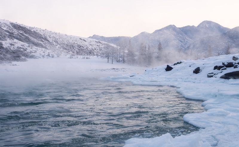 ...Ледяной берег Катуни...2photo preview