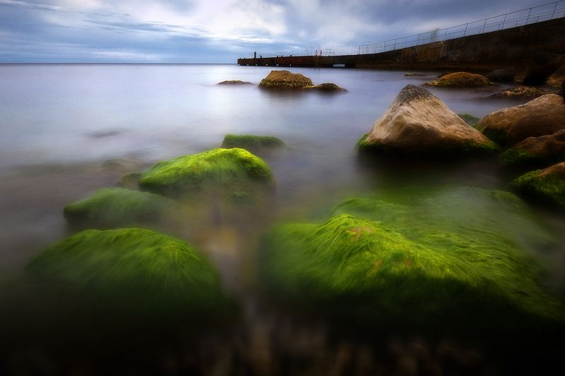 крым, черное море, природа, море, лето, вечер Вечеромphoto preview