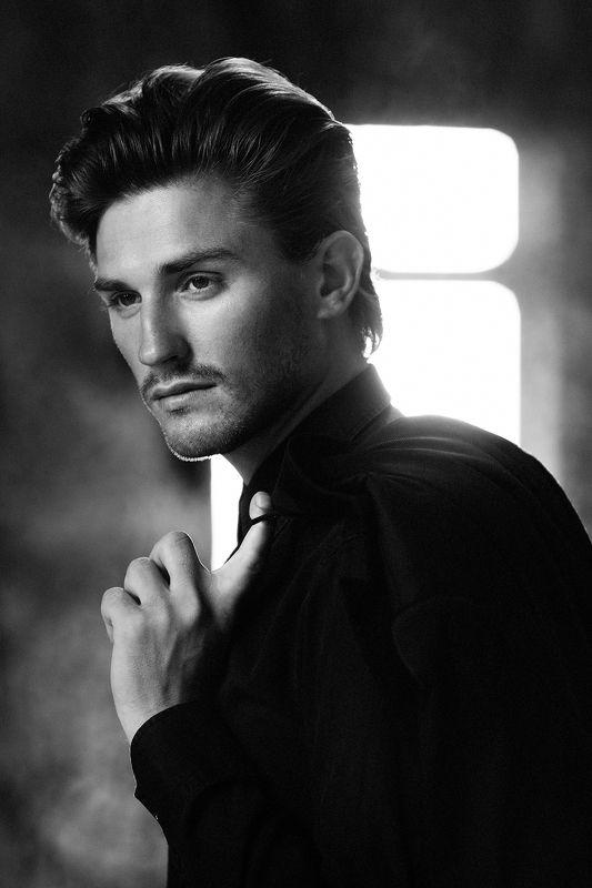 фото, мужчина, портрет, чб, черно-белое, photo, bw, portrait Адамphoto preview