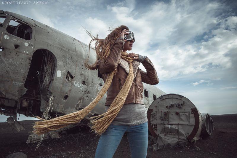 ветер, мысли, Исландия,крушение, DC-3, самолёт Однажды в Исландииphoto preview