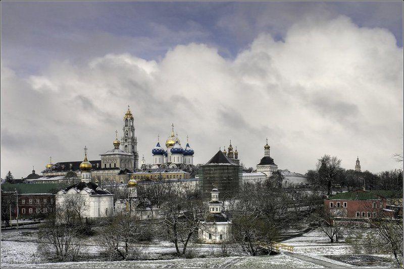 сергиев, посад, троице, сергиева, лавра, загорск Под первым снегом ноябряphoto preview
